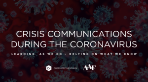 Crisis Communications During the Coronavirus