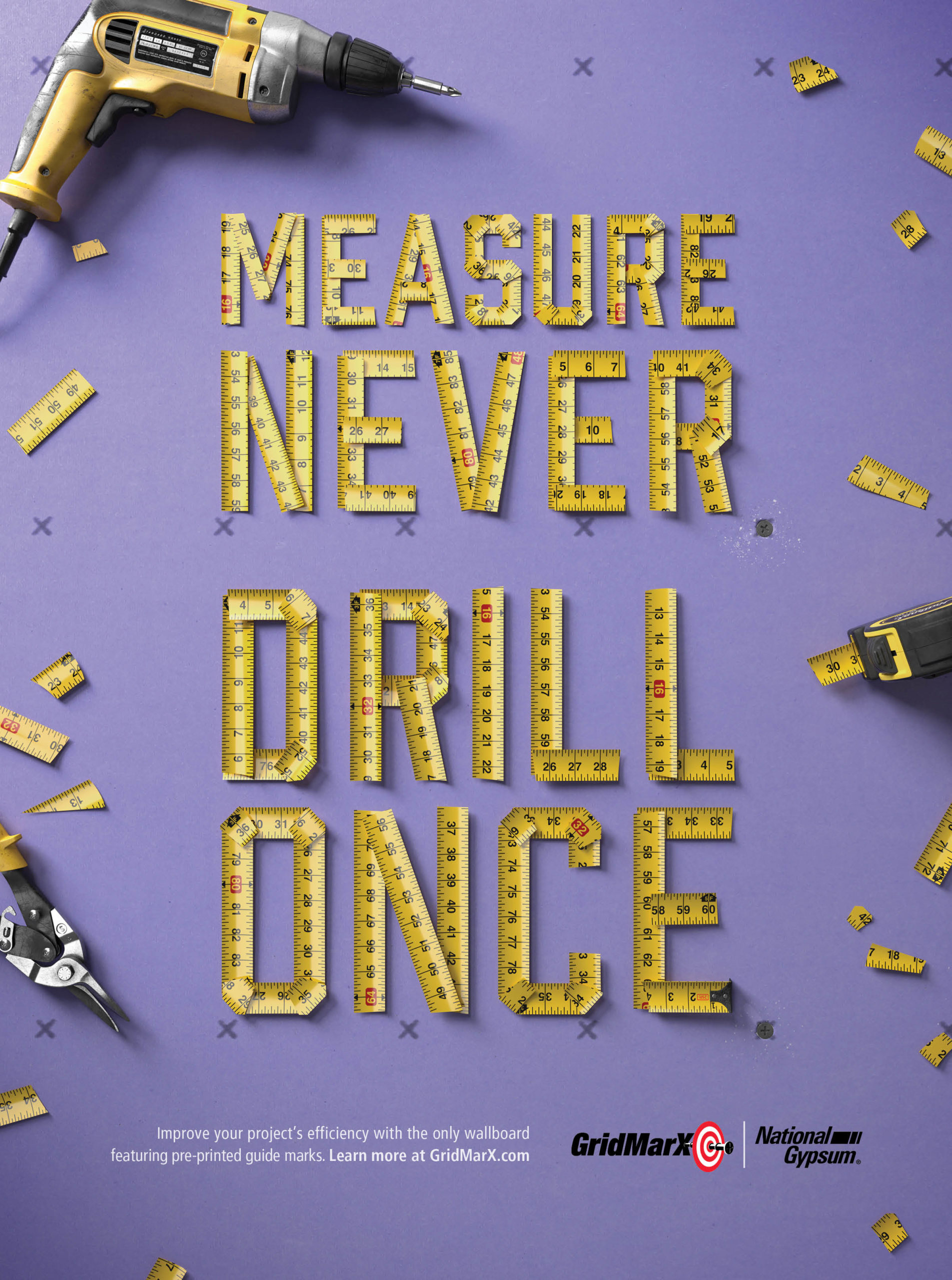 Measure Never. Drill Once.