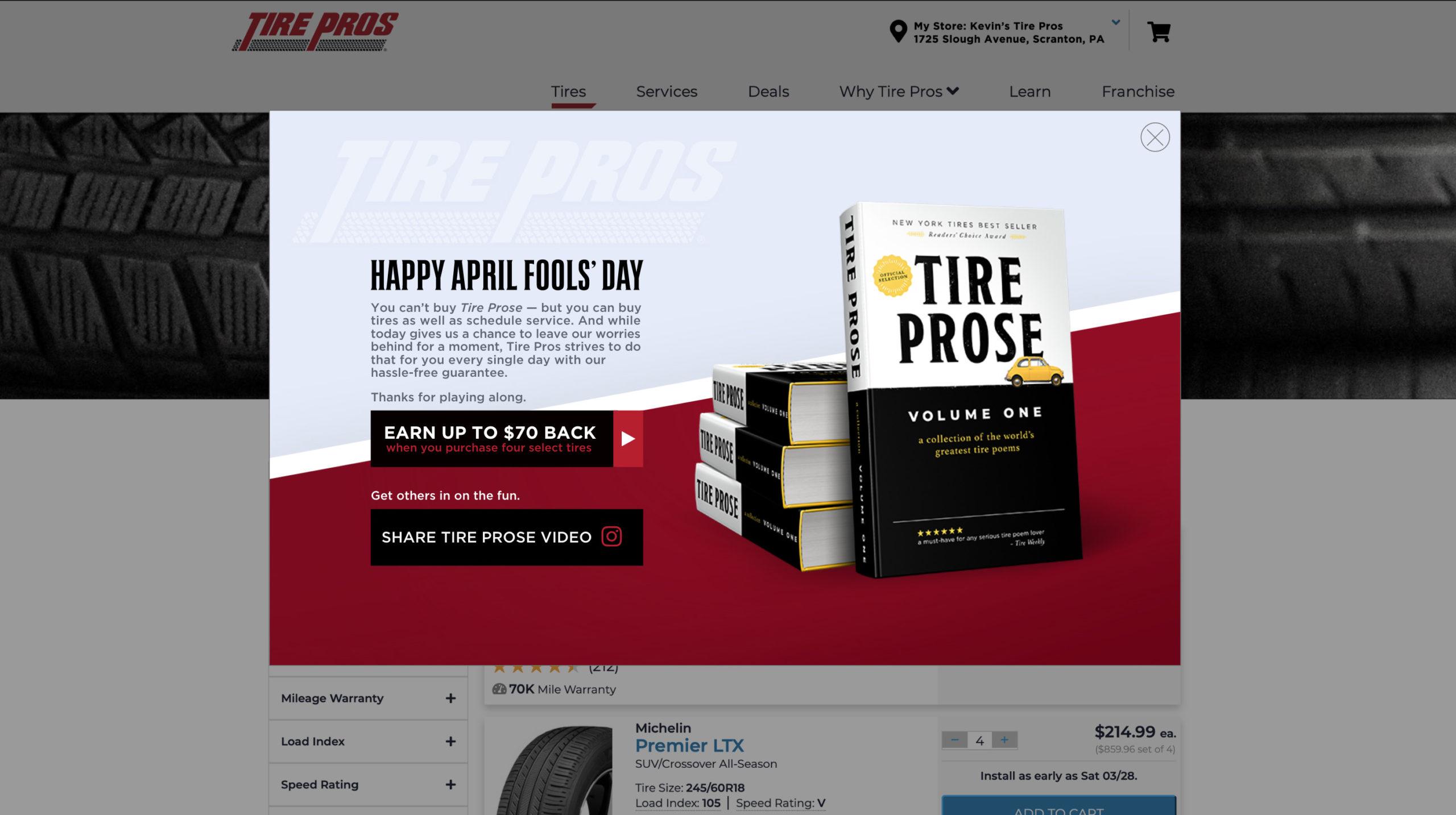 Tire Prose